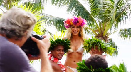 Moorea Flower Headdress